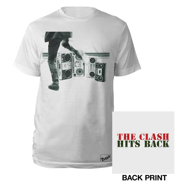 The Clash Hits Back Text Tee