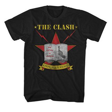 The Clash Know Your Rights T-shirt