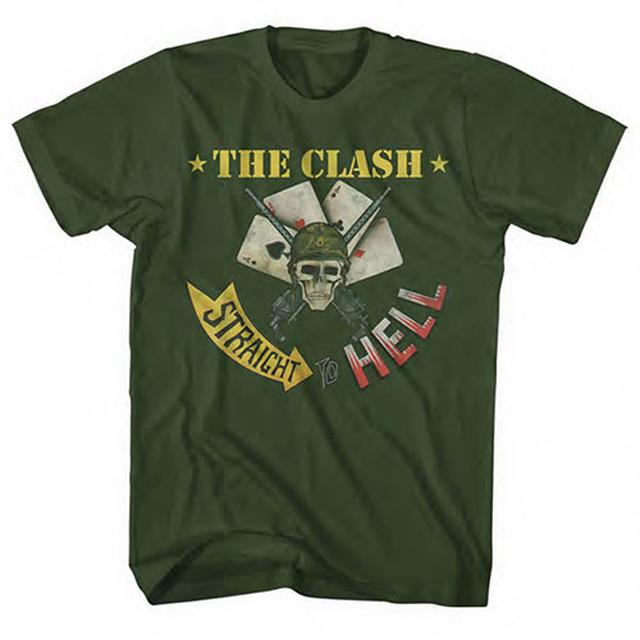 The Clash Straight To Hell T-shirt