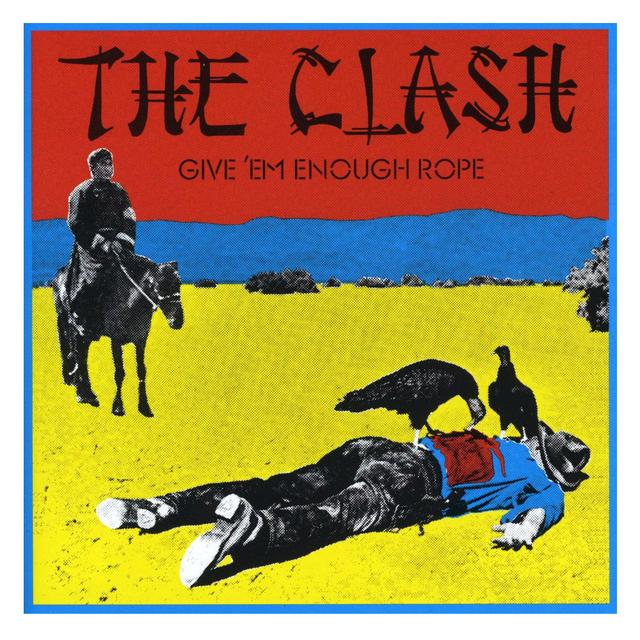 The Clash Give Em Enough Rope LP