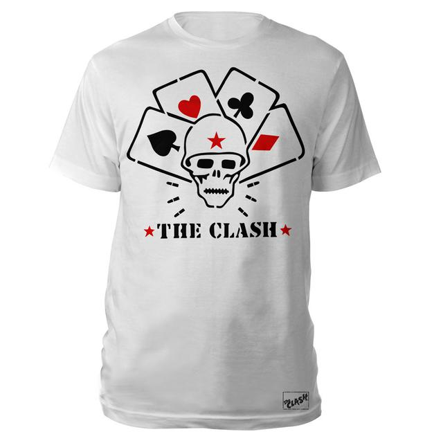 The Clash Skull Stencil Tee