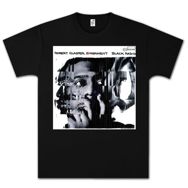 Robert Glasper Experiment Shattered T-Shirt on Black
