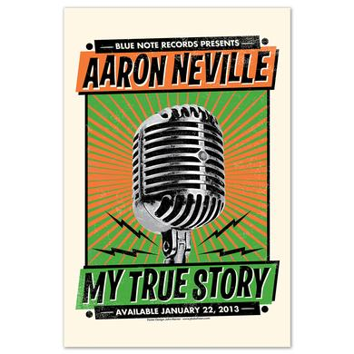 Aaron Neville My True Story Poster