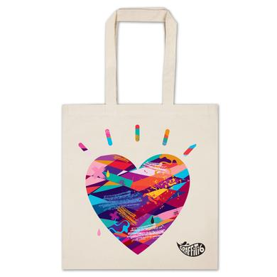 Graffiti6 Heart Logo Tote
