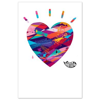 Graffiti6 Heart Logo Print