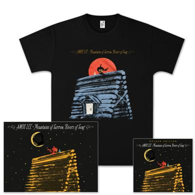 Amos Lee Mountains Of Sorrow, Rivers Of Song Deluxe CD Bundle