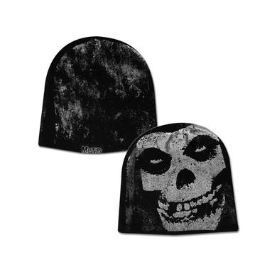 Misfits Tonal Skull Beanie