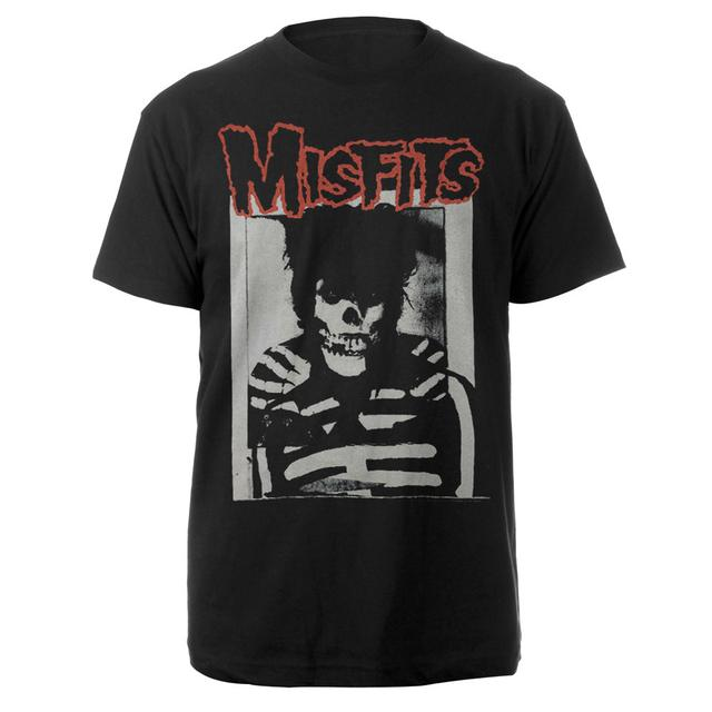 Misfits GD Skull Black Tee