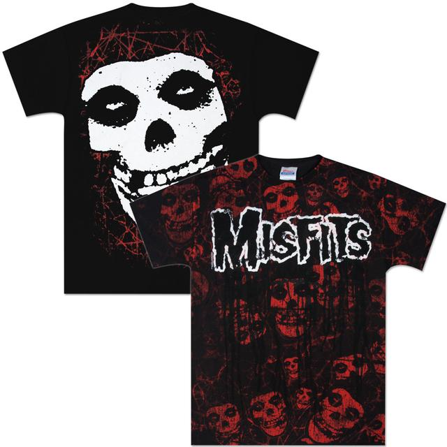 Misfits Fiend Allover T-Shirt