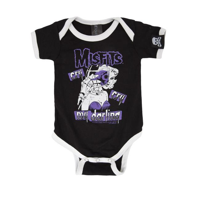 The Misfits Cry Cry My Darling Onesie