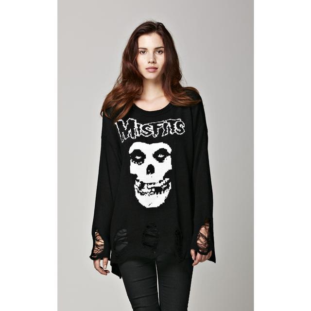 Misfits Skull Sweater