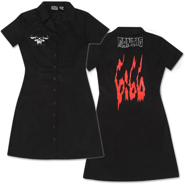 Danzig 666 Skull Work Dress