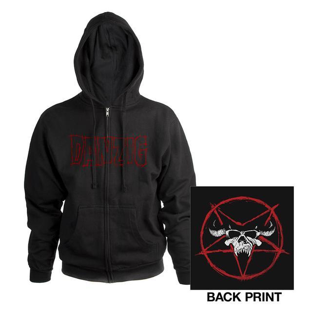 Danzig Pentagram Hoodie