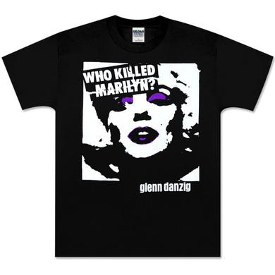Danzig Who Killed Marilyn Black Tee