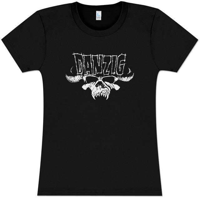 Danzig Kill Somebody GirlsÕ Fitted T-Shirt