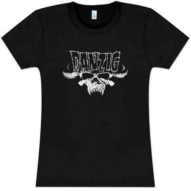 Danzig Kill Somebody GirlsÕ Fitted T-Shirt