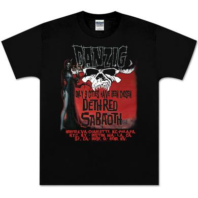 Danzig 9 Cities Event T-Shirt