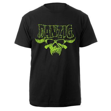 Green Danzig Skull Tee