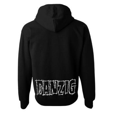 Danzig Black Skull Zip Hoodie