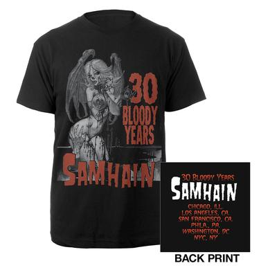 Samhain 30th Anniversary Itinerary Tee
