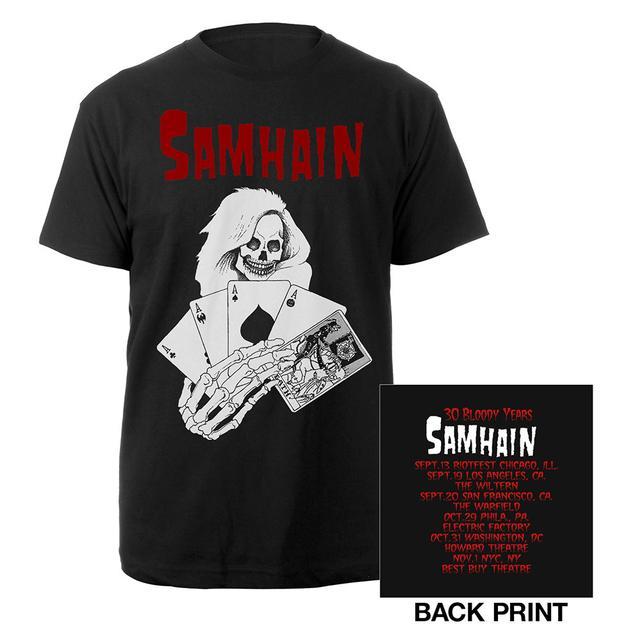 Samhain Death Card Itinerary Tee