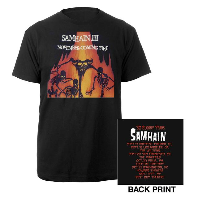 Samhain November Fire Itinerary Tee