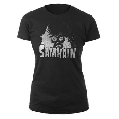 Samhain Womens Femme Skull Tee