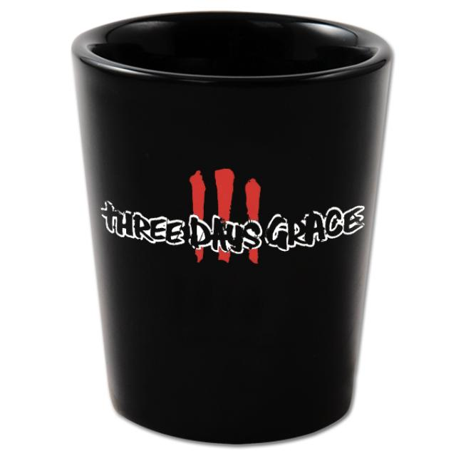 Three Days Grace III Shot Glass