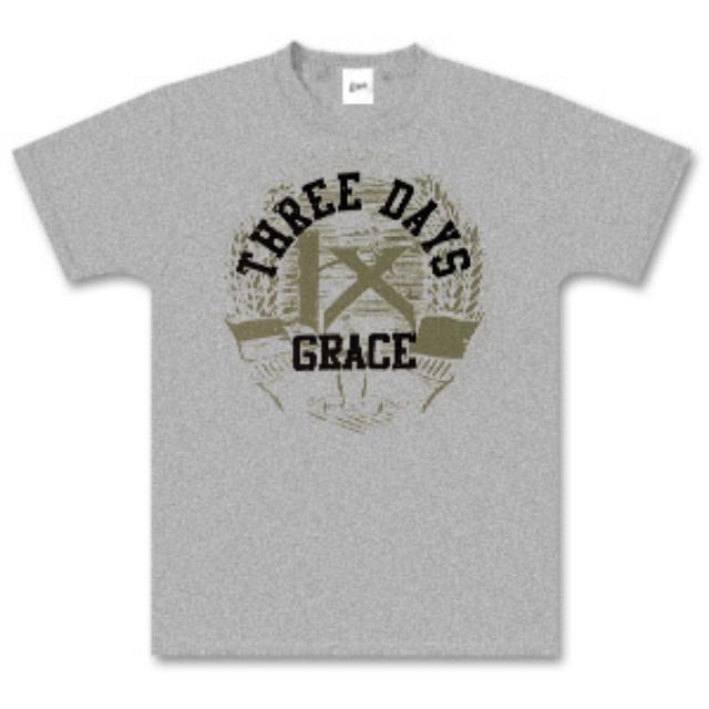 Three Days Grace Ash Grey Boxer T-Shirt