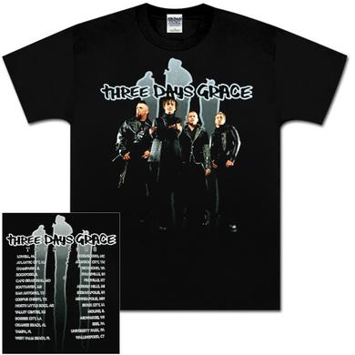 Three Days Grace 2008 Slash Photo T-Shirt