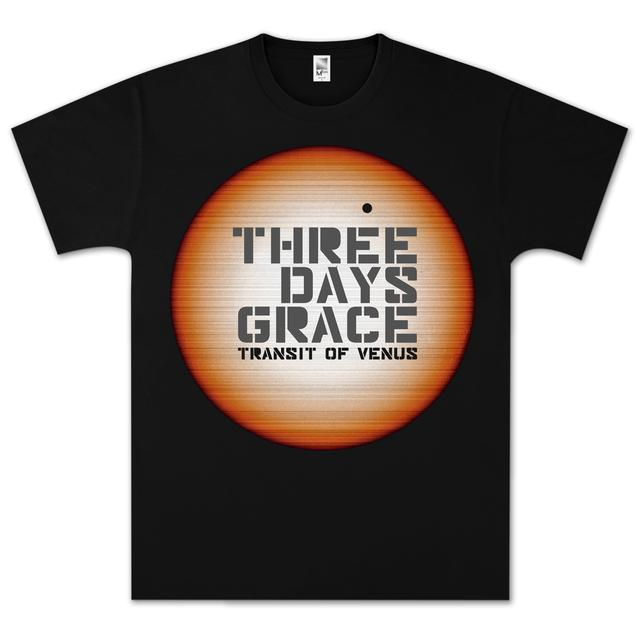 Three Days Grace Linear Sun T- Shirt