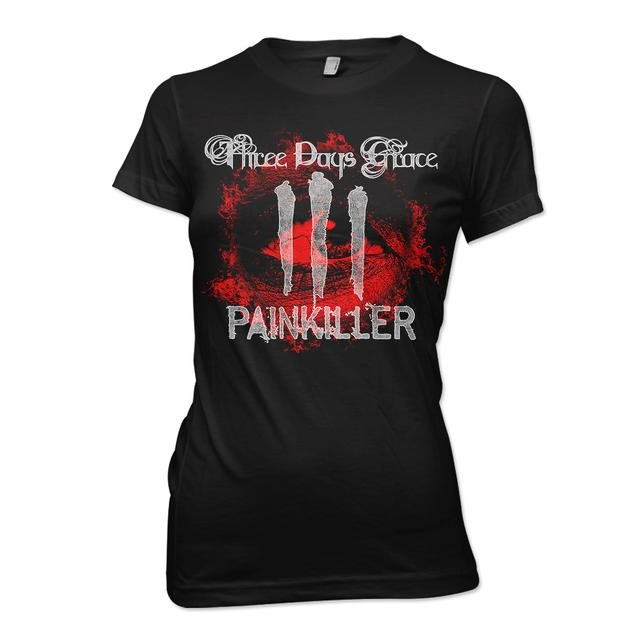 Three Days Grace Bloodshot Junior T-Shirt