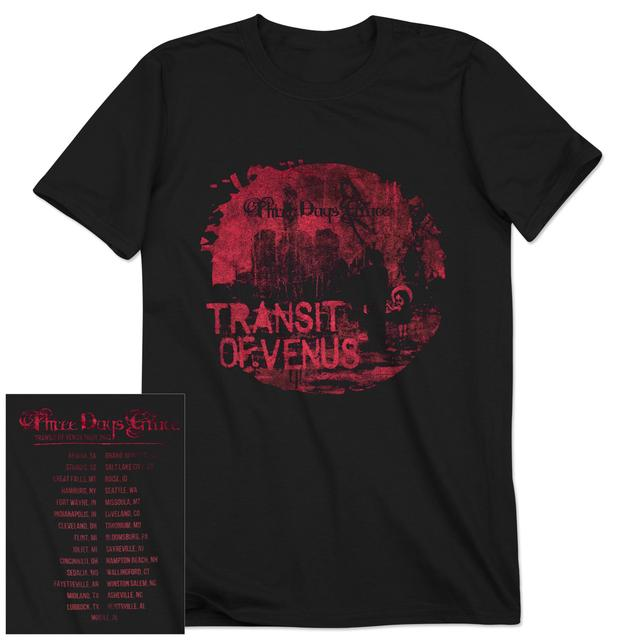 Three Days Grace Painted Venus 2013 Tour T-Shirt