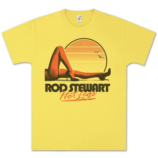 Rod Stewart Hot Legs T-Shirt