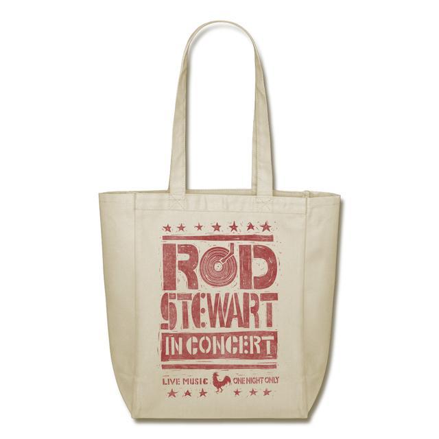 Rod Stewart Vinyl Tote Bag