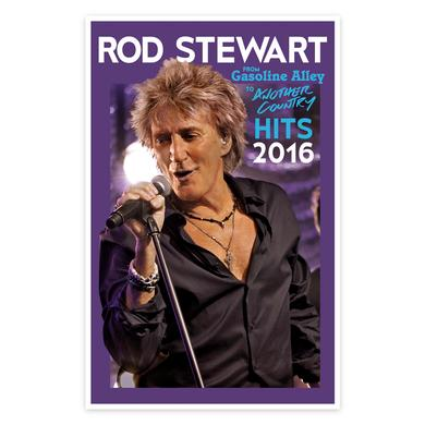 Rod Stewart Lights Litho