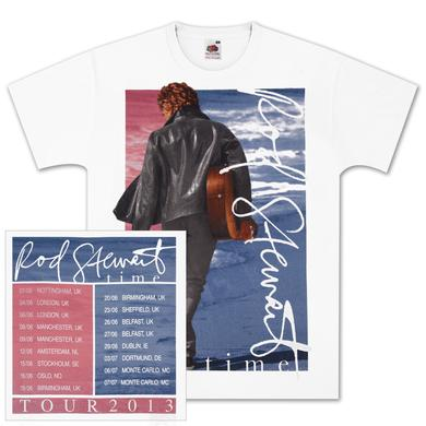 Rod Stewart Split Colors Tour T-Shirt