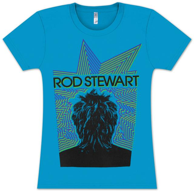 Rod Stewart Electric Juniors T-Shirt