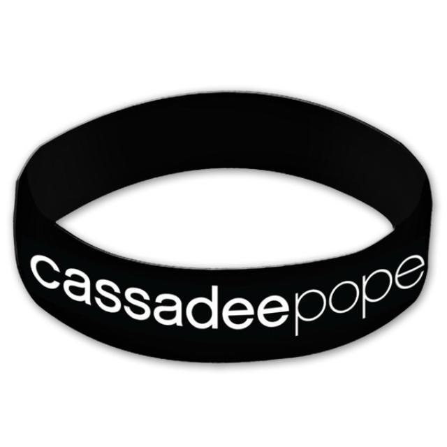 Cassadee Pope Rubber Bracelet