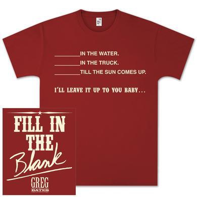 Greg Bates Blank's T-Shirt