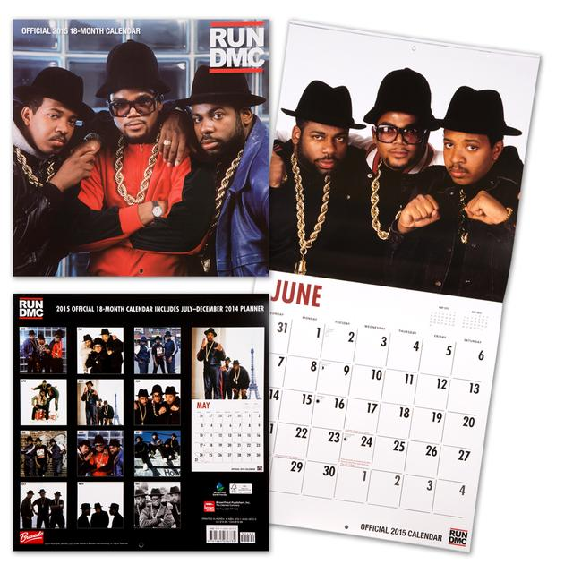 Run DMC 2015 Square 12x12 Calendar