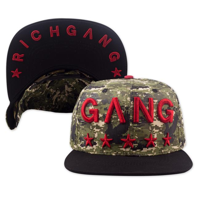 Rich Gang Digital Camo Hat