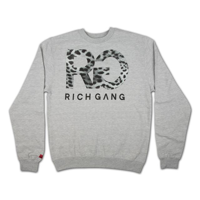 Rich Gang Snow Leopard Crewneck Sweatshirt