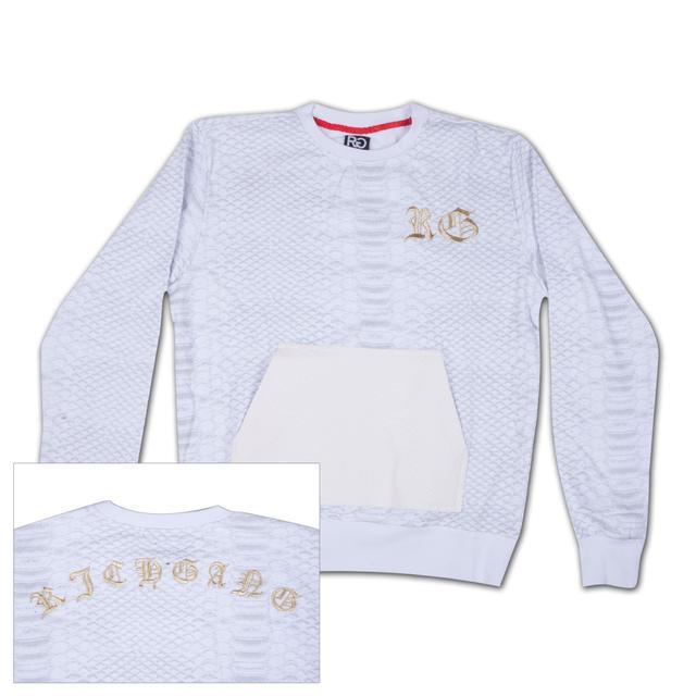 Rich Gang Python Pocket Crewneck Sweatshirt
