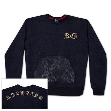 Rich Gang Python Pocket Crewneck Sweatshirt
