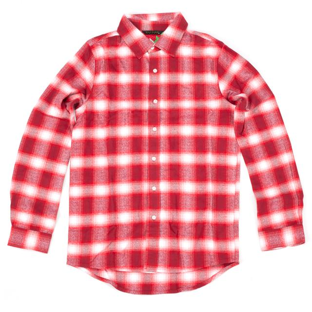 Rich Gang Plaid Bird Button Down