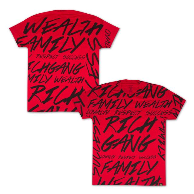 Rich Gang Scribble T-Shirt