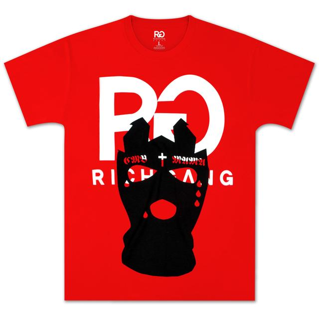 Rich Gang Tap Out Birdman T-Shirt In Cherry
