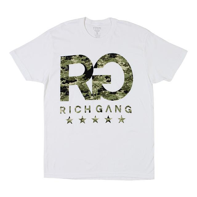 Rich Gang Camo RG T-Shirt