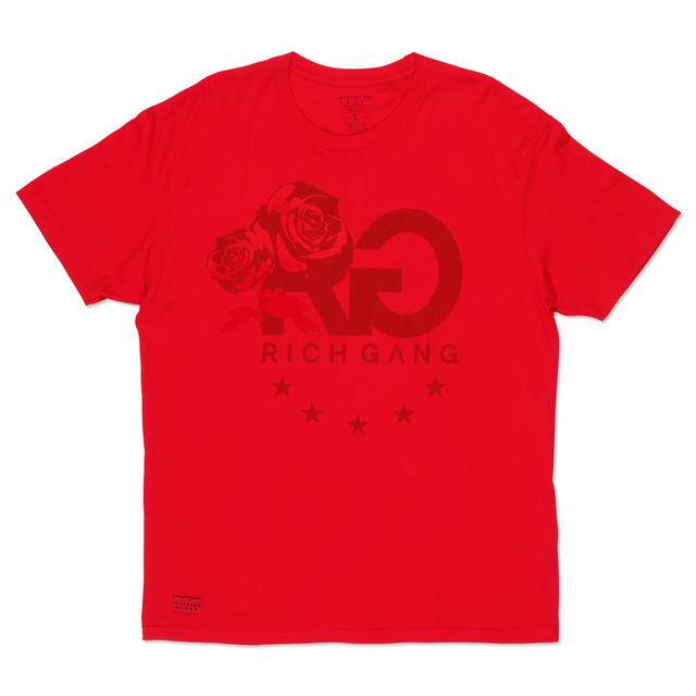 Rich Gang Tonal Rose T-Shirt